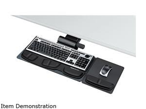 Fellowes 8036001 - Professional Premier Series Adjustable Keyboard Tray, 19w x 10-5/8d, Black