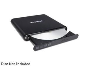 TOSHIBA USB 2.0 DVD±RW SuperMulti Portable Drive Model PA3834U-1DV2