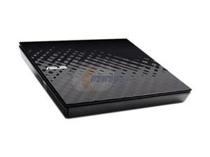 ASUS USB 2.0 External Slim DVD-RW Drive Model SDRW-08D2S-U/BLACK/ASUS