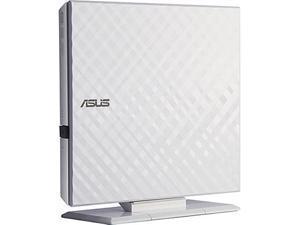 ASUS USB 2.0 8x External DVDRW White Slim Portable Model SDRW-08D2S-U W G ACI