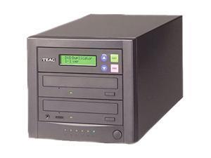 TEAC Black 1 to 1 8M Buffer Memory Stand-Alone 16x CD/DVD Duplicator Model DVW/D11A/KIT