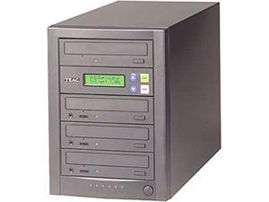 TEAC 1 to 3 CD/DVD Duplicator Recorder Tower Drive Copier Model DVW/D13A/Kit/HD