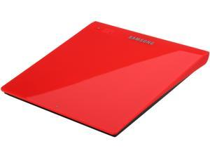 SAMSUNG Ultra-Slim Optical Drives  Red, M-Disc Support, MAC OS X compatible Model SE-208GB/RSRD