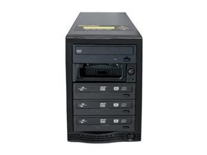 Aleratec Black 1 to 3 CD/DVD Tower Publisher SLS Duplicator Model 260172