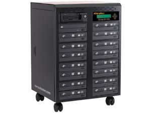 Aleratec 1 to 15 CD/DVD Duplicator LightScribe Support Model 260178