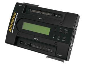 Aleratec Black 1 to 1 PortaCruiser - Hard Disk Drive Duplicator and RAID Model 350108