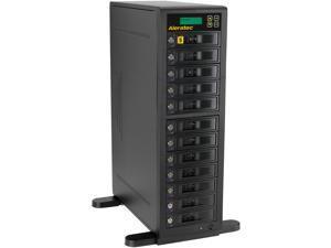Aleratec 11 1536 MB Buffer Memory 1:11 High-Speed HDD Copy Cruiser - 11 HDD Duplicator & 12 HDD Sanitizer Model 350126