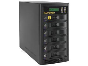 Aleratec 1 to 5 768 MB Buffer Memory 1:5 HDD Copy Cruiser High-Speed Duplicator Model 350125