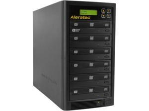 Aleratec Black 1 to 5 128M Buffer Memory 1:5 DVD/CD Copy Tower Duplicator Model 260181