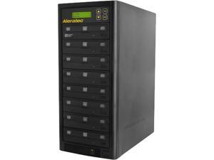 Aleratec Black 1 to 7 128M Buffer Memory DVD/CD Copy Tower Duplicator Model 260182