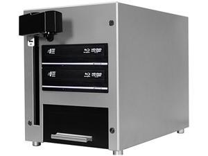 VINPOWER 1 to 2 THE CUBE Automated Blu-ray DVD CD Duplicator - 2 Drive & 25 Disc Capacity Model CUB25-S2T-BD