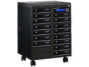 VINPOWER 1 to 15 Econ Series  Blu-ray DVD CD Duplicator Tower with 500GB Hard Drive Model Econ-S15T-BD-BK