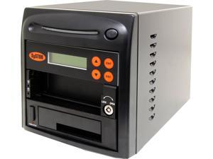 Systor 1:1 SATA/IDE Combo Hard Disk Drive (HDD/SSD) Duplicator/Sanitizer - High Speed (150mb/sec)
