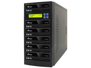 PlexCopier 1 to 5 Econ Series SATA DVD/CD Tower Duplicator Model PLEX-S5T-DVD-BK