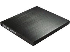 HornetTek USB 3.0 / Compatible with USB 1.1 / USB 2.0 Black USB3.0 Super Slim Portable Blu-Ray Burner Model HT-OBW01B-U3