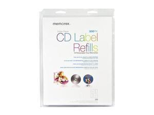 Memorex 00403 CD/DVD Labels
