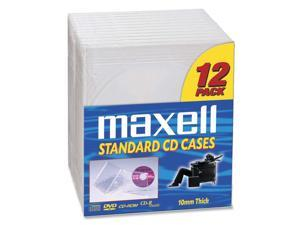 maxell 190069 Storage CD Jewel Case