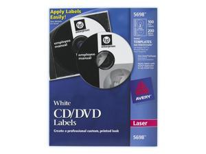 AVERY 5698 Jewel Case Spine Laser Label