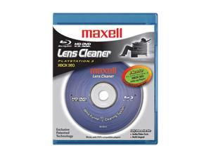 maxell 190054 - BR/HD-LC Blu-ray & HD DVD Lens Cleaner