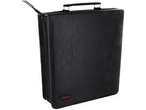TekNmotion TM-CD256B1 256 CD / DVD Binder Case - Black
