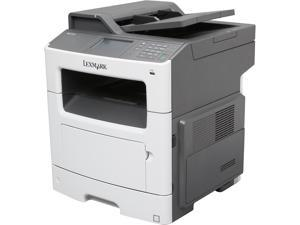 Lexmark MX410de Up to 40 ppm 1200 x 1200 dpi USB/Ethernet Duplex Monochrome Laser Multifunction Printer