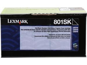 LEXMARK 801SK (80C1SK0)&#59; Return Program Standard Yield Return Program Toner Black