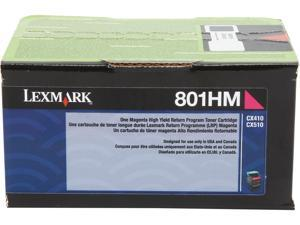 LEXMARK 801HM (80C1HM0)&#59; Return Program High Yield Return Program Toner Magenta