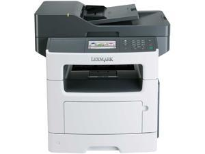 Lexmark MX510de MFC / All-In-One Up to 45 ppm 1200 x 1200 dpi Color Print Quality Monochrome Laser Printer Government Compliant CAC
