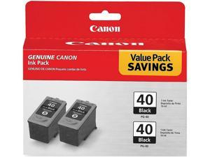 Canon (0615B013) PG-40 Black Inkjet Cartridges Dual Pack