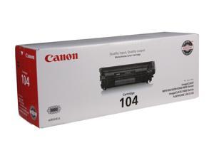 Canon 104  Toner Cartridge (0263B001)&#59; Black