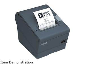 Epson C31CA85091 TM-T88V POS Thermal Receipt Printer - Black, Serial , External Power Supply (PS-180)