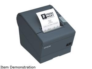 Epson C31CA85A6641 TM-T88V POS Thermal Receipt Printer - Black, Powered USB (TransScan, T88IV & T70 only) , Power Supply Not Included