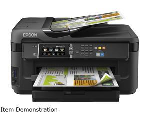 EPSON WorkForce C11CC98301 Up to 18 ppm Black Print Speed 600 x 600 dpi Color Print Quality InkJet MFP Color Printer