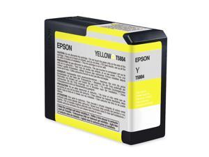EPSON T580400 80 ml UltraChrome K3 Ink Cartridge Yellow
