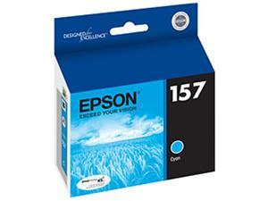 EPSON T157220 UltraChrome K3 157 Ink Cartridge Cyan