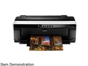 EPSON Stylus Photo R2000 C11CB35211 5760 x 1440 dpi Color Print Quality Wireless InkJet Photo Color Printer