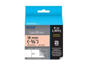 EPSON LabelWorks LC-5DBF9 Print/Orange Tape
