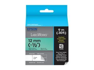 EPSON LabelWorks LC-4GBL9 Print/Green Tape