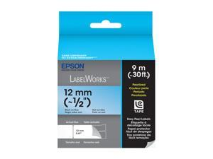 EPSON LabelWorks LC-4LBL9 Print/Blue Tape