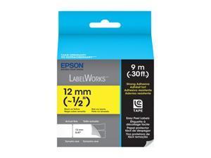 EPSON LabelWorks LC-4YBW9 Print/Yellow Tape
