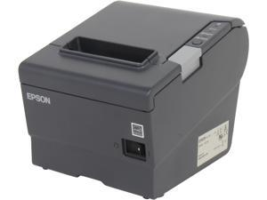 Epson C31CA85330 TM-T88V POS Thermal Receipt Printer - Gray, Ethernet , External Power Supply (PS-180)