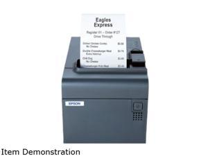 """EPSON TM-L90(C31C412A8831) Thermal 150mm/sec, 5.9""""/sec high-speed mode, 120mm/sec, 4.7""""/sec normal mode 203 x 203 dpi Gray Label and Barcode Printer"""