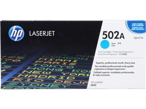 HP 502A Cyan LaserJet Toner Cartridge (Q6471A)