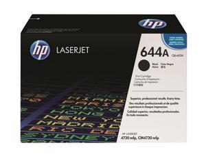 HP 644A Black LaserJet Toner Cartridge (Q6460A)