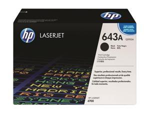 HP 643A Black LaserJet Toner Cartridge (Q5950A)
