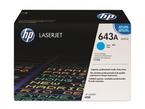 HP 643A Cyan LaserJet Toner Cartridge (Q5951A)