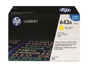 HP 643A Yellow LaserJet Toner Cartridge (Q5952A)