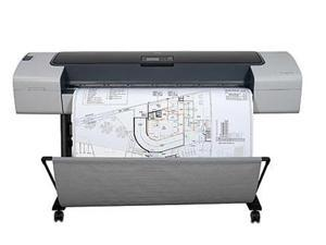 "HP Designjet T1100ps Q6688A Up to 2400 x 1200 optimized dpi Color Print Quality InkJet Large Format Color 44"" Printer"