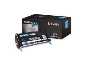 LEXMARK X560H2CG X560 High Yield Print Cartridge Cyan