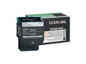 LEXMARK C540A1KG C540, C543, C544, X543, X544 Return Program Toner Cartridge Black